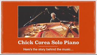 Chick Corea, Solo Piano: Portraits: Preview from New Album 2014 [Part 1 of 6]