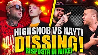 HIGHSNOB - ALLELUJA ( NAYT DISSING ) | RAP REACTION