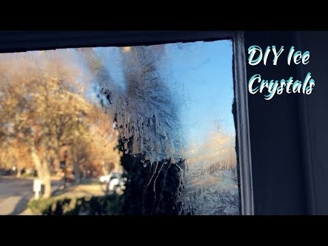 Diy Jack Frost Windows (frosted Windows)