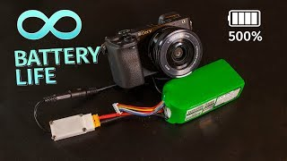 Hacking Sony a6300 for infinite battery life