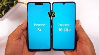 Honor 8c vs Honor 10 Lite Speed Test & Comparison [Urdu/Hindi]