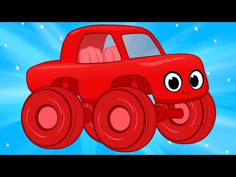 Monster Truck Morphle & More -- (No Voices)