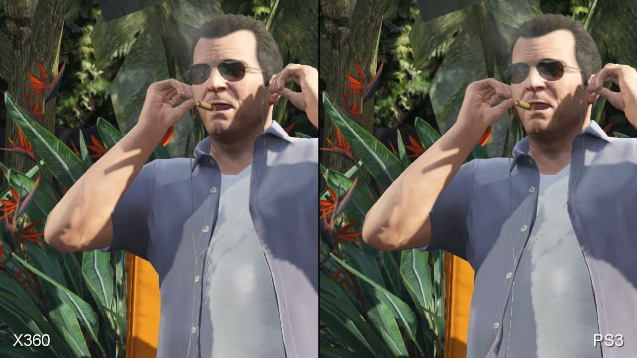 GTA 5: PS3 vs  Xbox 360, gameplay and graphics quality