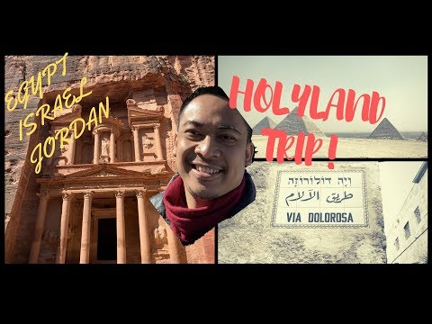HOLY LAND PILGRIM TOUR - EGYPT, ISRAEL, JORDAN