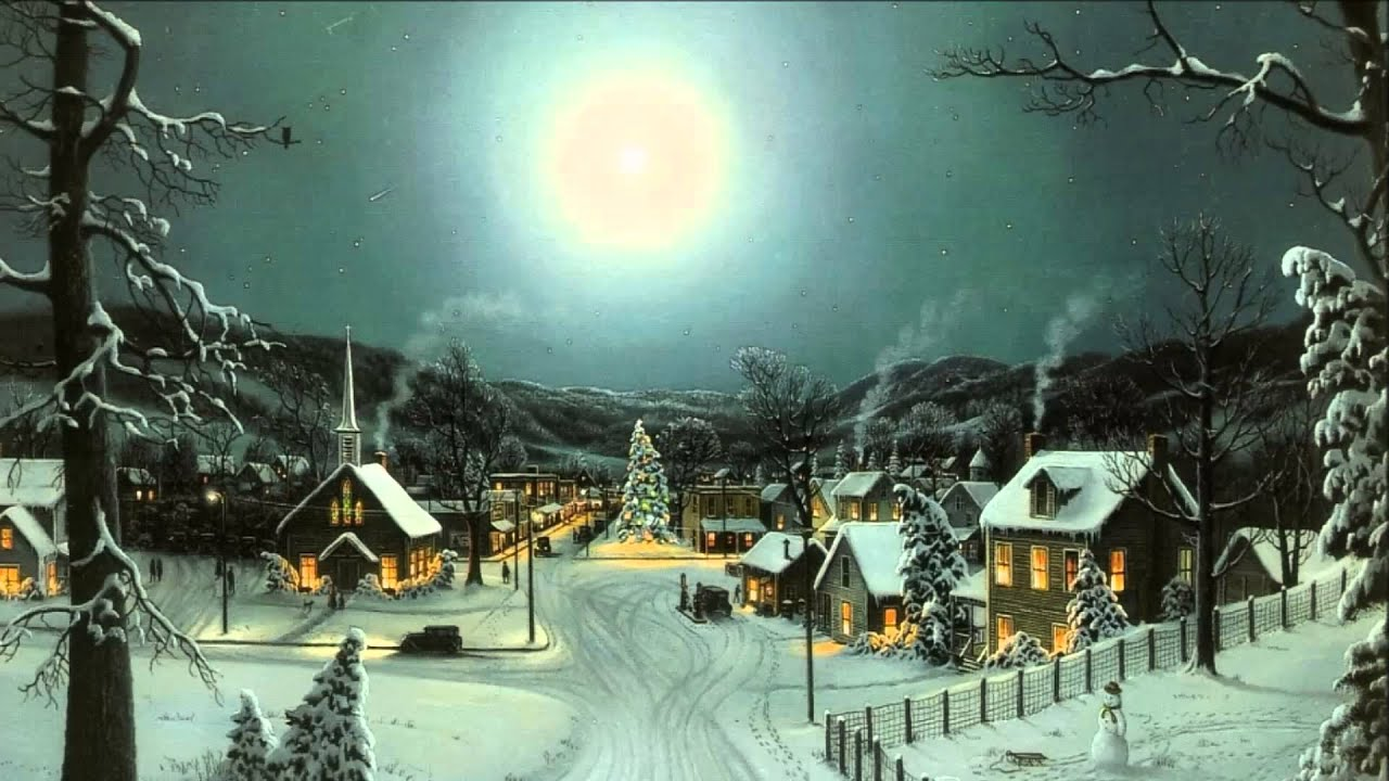 nat king cole - the christmas song (with hd christmas wallpapers and