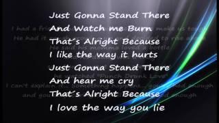 Krista Nicole ft MarsRaps - Love the Way you Lie  Lyrics HD