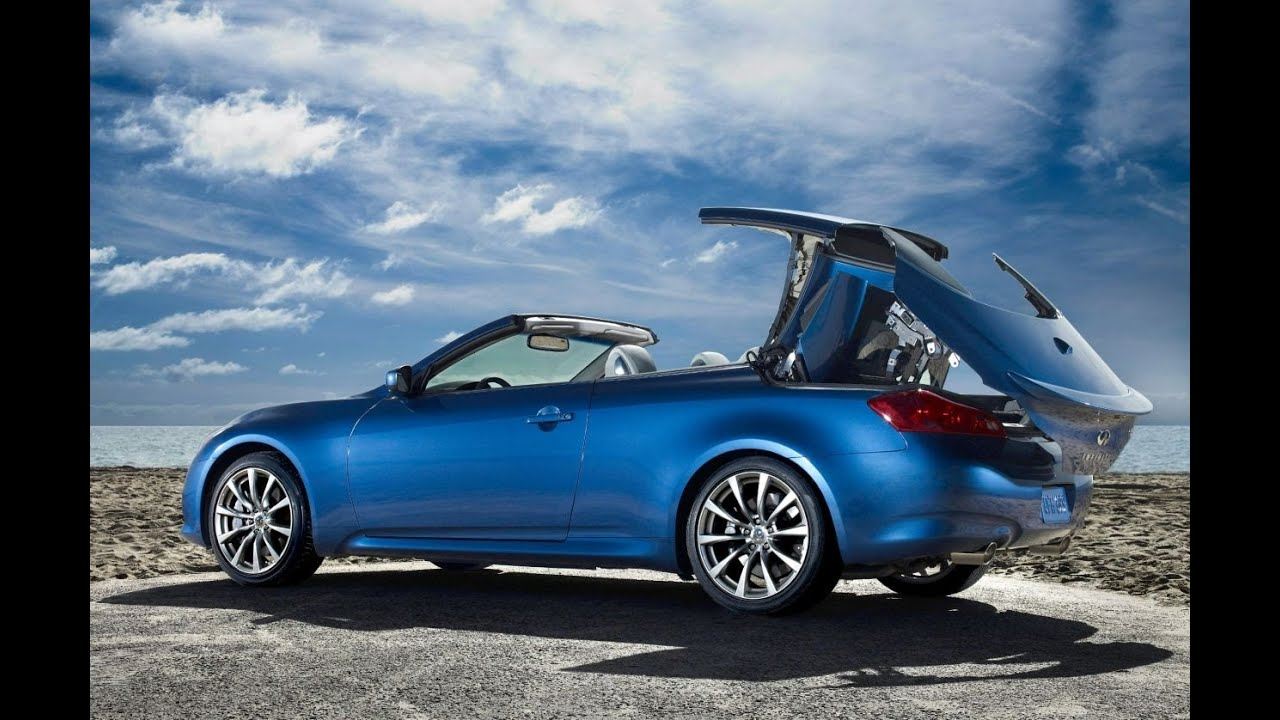 review convertible infiniti b infinity