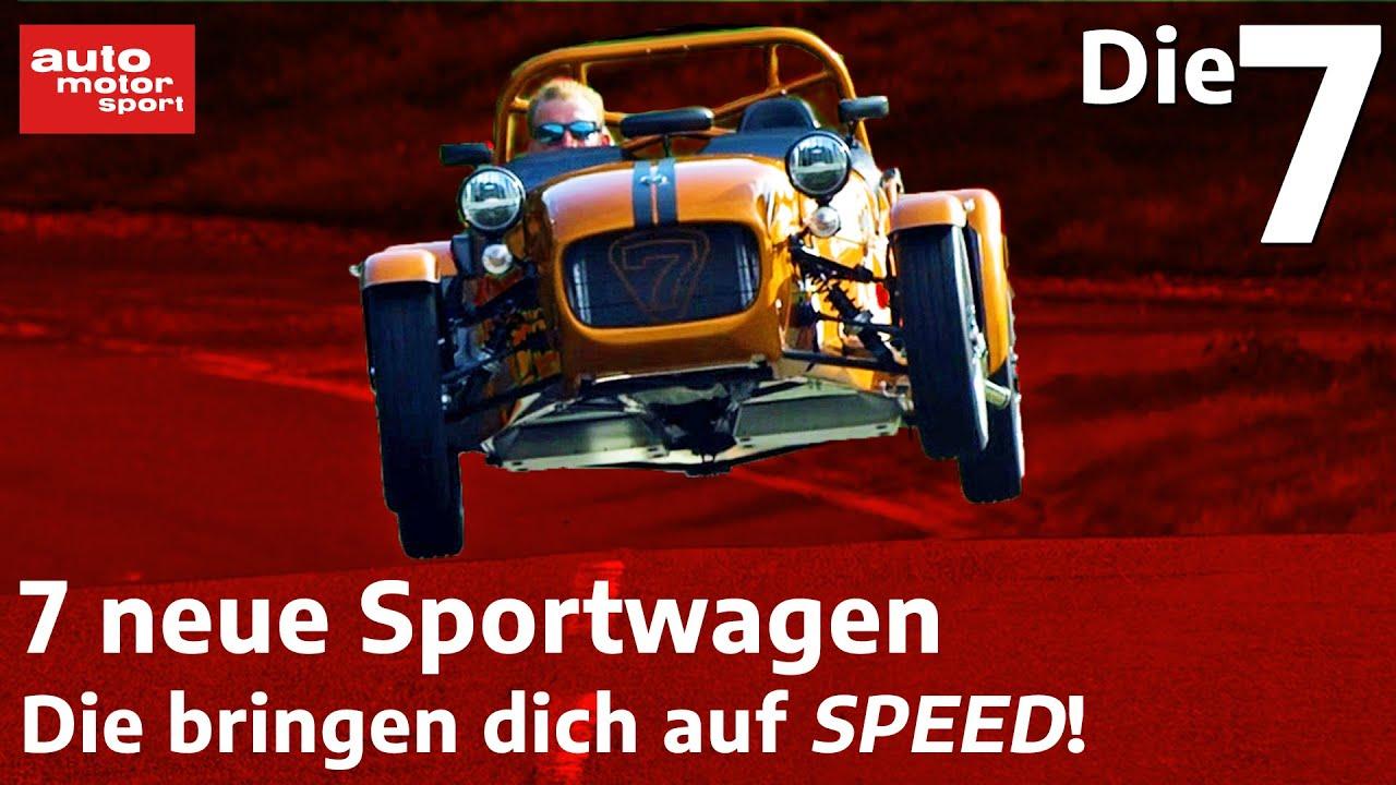 Download Schnell in die Zukunft - 7 neue Sportwagen für die Flucht nach vorne | auto motor sport