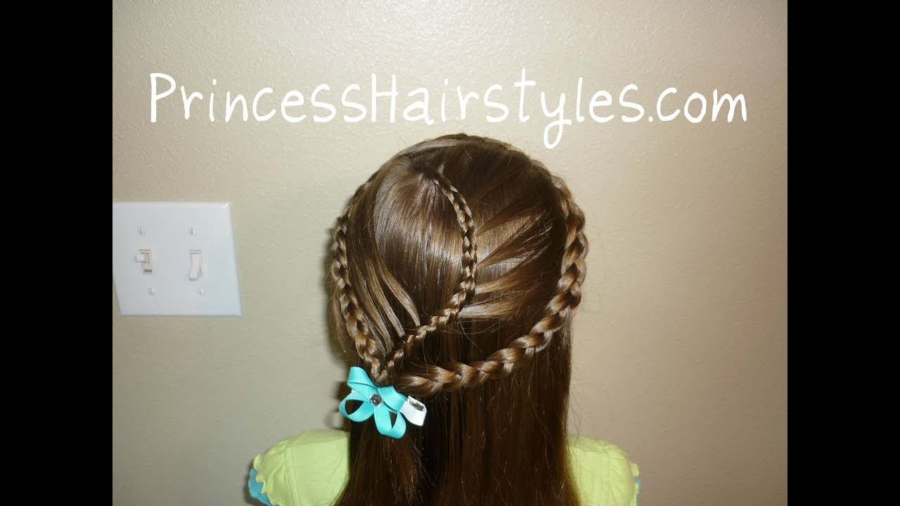 Hairstyles Braids Youtube: Cage Braid Hairstyle, Curvy Cascading French Braided Veil