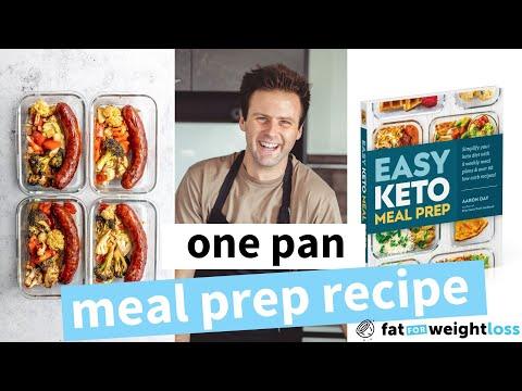Keto Sheet Pan Dinner (Meal Prep Recipe)