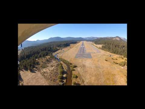 Landing at Lake Tahoe Airport with Hysterical Passenger