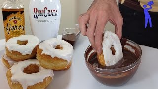 Drunken Donuts - Cooking With Booze - Tipsy Bartender