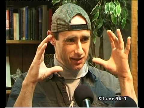 Luc Sala interviews Andy Caswell of Awareness film by R. Dijkema, Dec. 2000