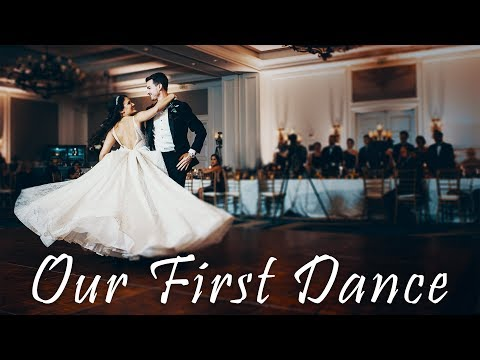 """Our First Dance // Viennese Waltz to """"All That You Are"""" by the Goo Goo Dolls"""