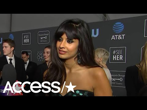 'The Good Place's' Jameela Jamil Was 'Furious' Kristen Bell Didn't Win At The Globes | Access