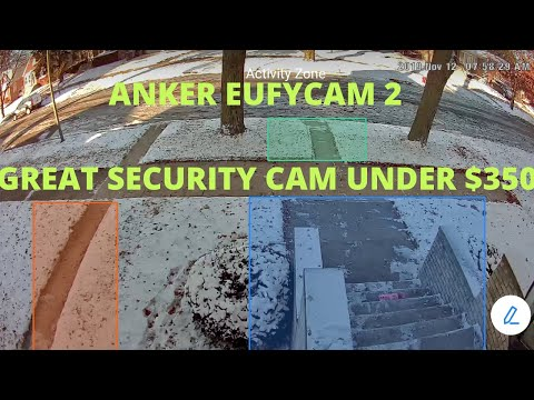 ANKER EUFYCAM 2 WIRELESS SECURITY SYSTEM REVIEW.  INSANE BATTERY LIFE!!
