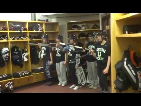 Union College Women's Ice Hockey Senior Video 13-14