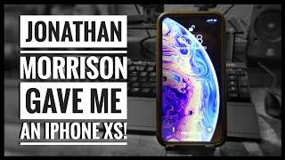 I got an iPhone XS from Jonathan Morrison! Feat. Painfully Honest Tech, Vyyyper, ZAKtalksTECH