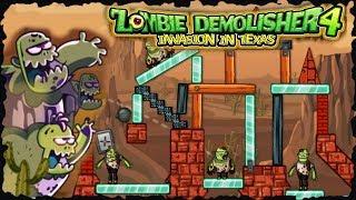 Zombie Demolisher 4 Full Game Walkthrough All Levels