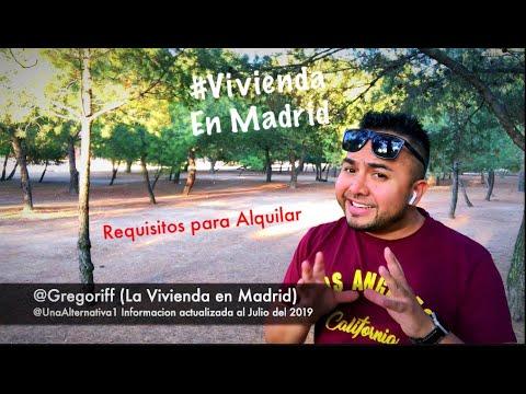 ALQUILAR PISO EN MADRID Y CONSEGUIR VIVIENDA (Con Podcasts) #Alquiler #Madrid #Gregoriff