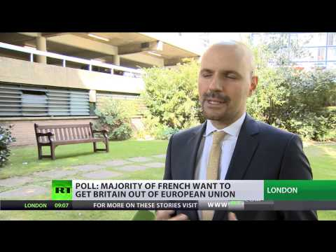 Unobliging Neighbors: Majority of French want Britain out of EU
