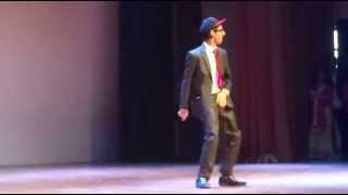 My Son Tanmay performing at School 2014