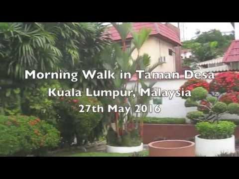 Morning Walk in Taman Desa