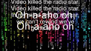 the buggles- video killed the radio star lyrics