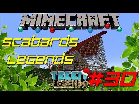 Minecraft | Solar Powered Quarry | Scabard's Legends #30 | Modded Hard Mode