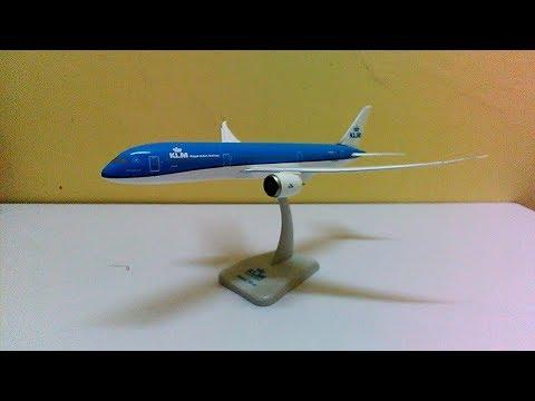 Hogan Wings KLM Boeing 787-9 Unboxing