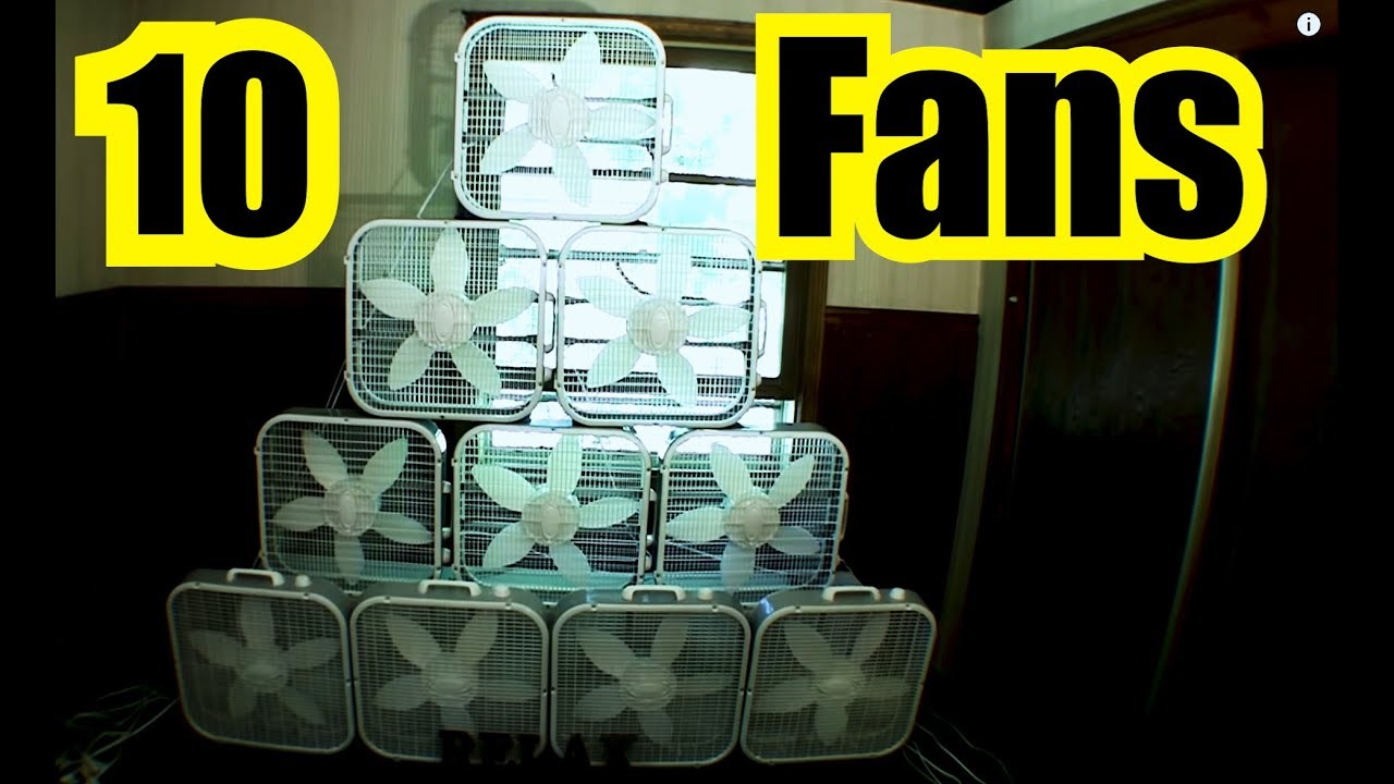 10 Box Fans Loud Fan Noise Sound Blocker Or Sound