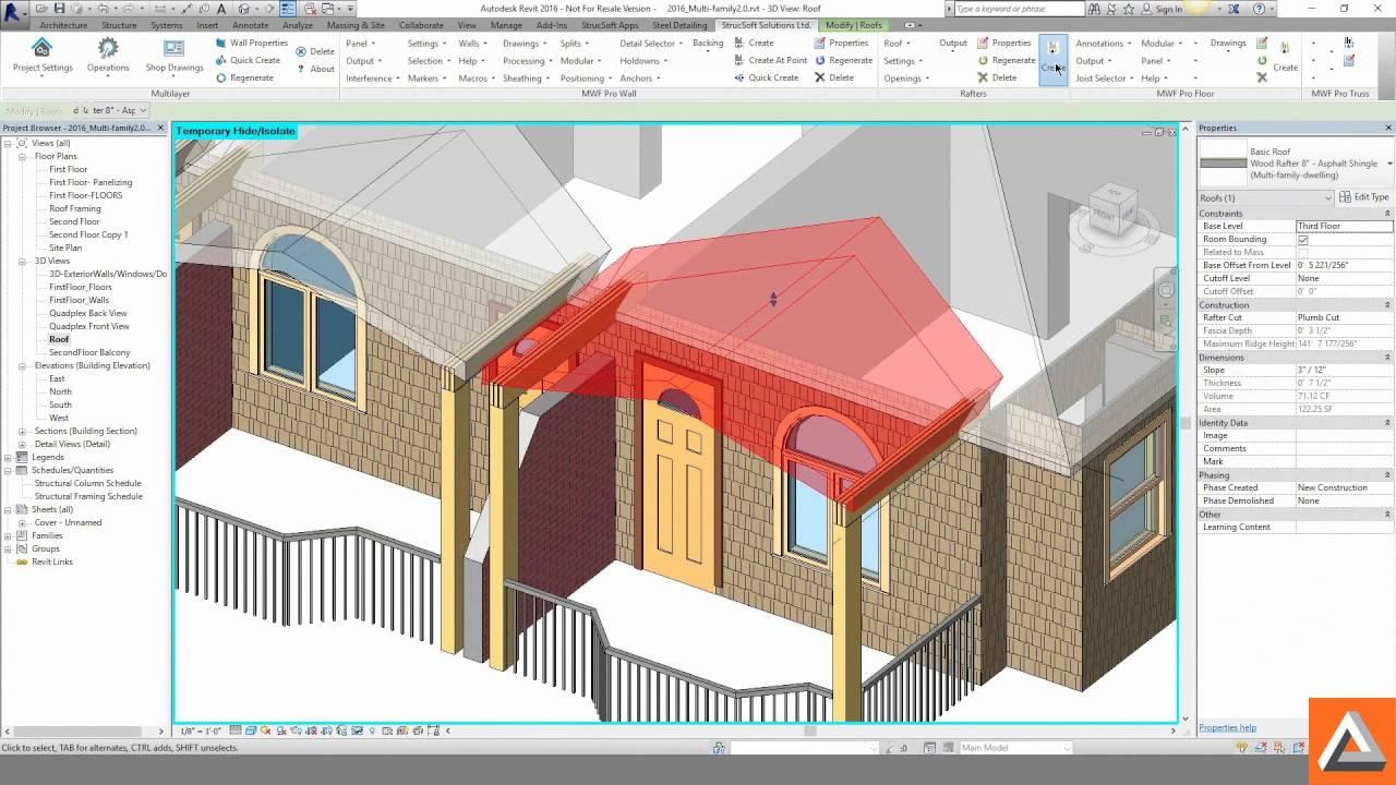 StrucSoft - Autodesk® Revit® based BIM Framing - Kelar Pacific