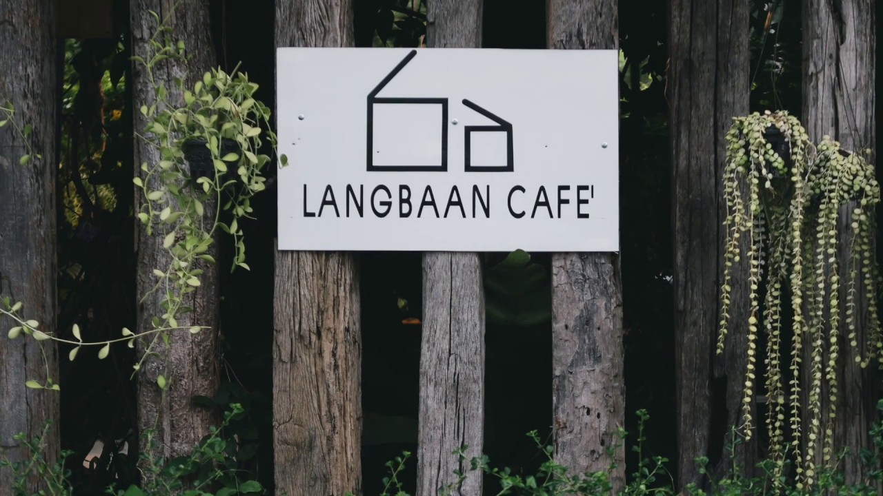 ร้านLANGBAAN CAFE' กำแพงเพชร - YouTube