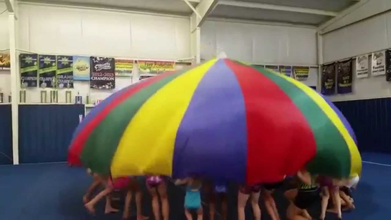 stuff to do with your parachutegymnasticsfitnesskids