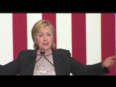 Hillary Clinton Economic Plan FULL Speech In Warren Michigan 8/11/16