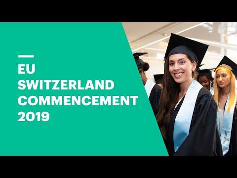 Commencement Ceremony 2019 | EU Business School Geneva & Montreux