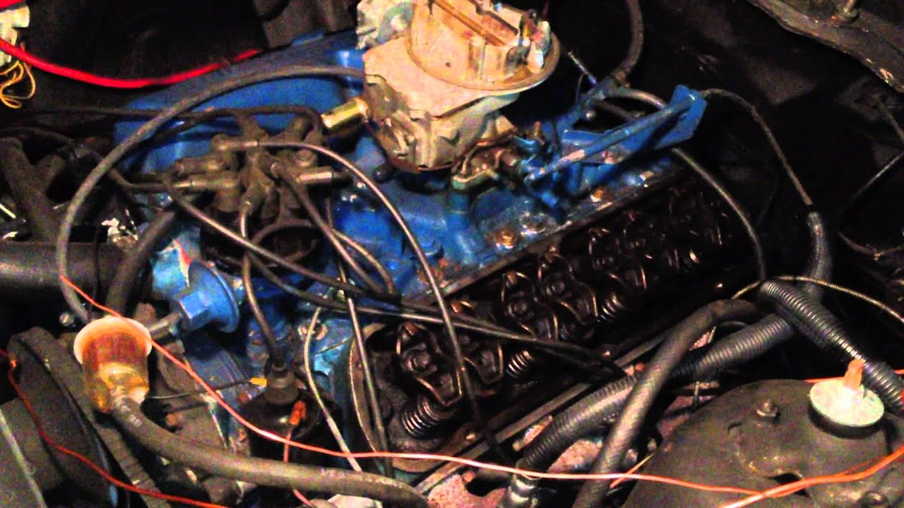 Ford Small Block 302 Engine Tear Down & Inspection  YouTube
