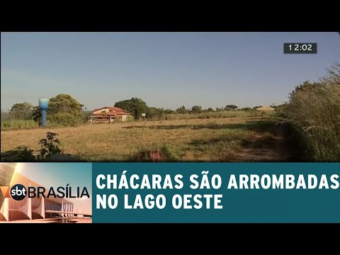 Arrombamentos de chácaras no Lago Oeste | SBT Brasília 17/05/2-18