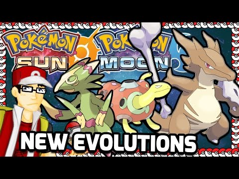 Pokemon Sun and Moon New Evolutions!