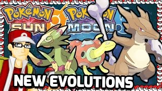 Pokemon Sun and Moon New Evolutions Predictions!
