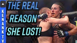 The REAL Reason: Joanna Lost AGAIN to Rose Namajunas! | UFC 223: Full Fight Breakdown | Film Study