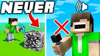 18 Things that will NEVER Exist in Minecraft!