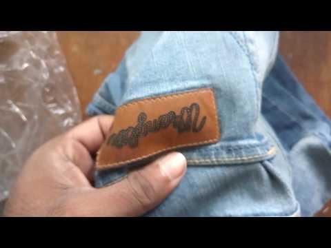 Wrangler jeans|Fake vs Real|Ordered from flipkart
