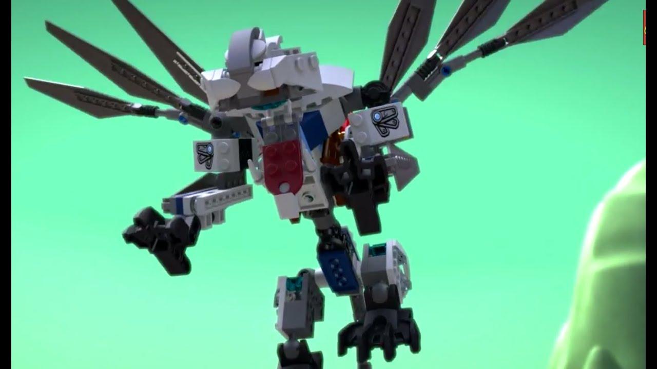Titanium Dragon Lego Ninjago 70748 Product Animation