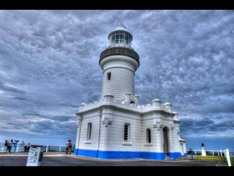 Byron Bay and the Light House.