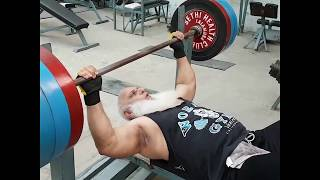 73 years old Pakistani bodybuilder
