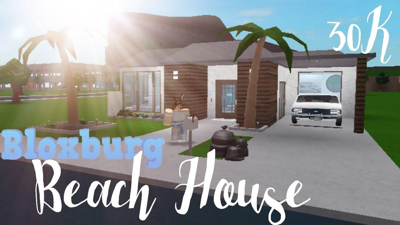 Bloxburg: One-story Beach House