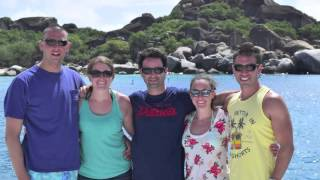 USVI/BVI Catamaran Trip on Sailing Vessel Raven! February 2016