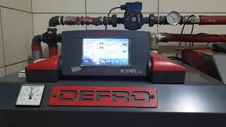 DEFRO Komfort Eko Duo Uni R 15kW   Jak pracuje w nowej kotłowni