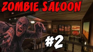 "The 23 PERK ZOMBIE SALOON!?!? [2] ★ ""An EPIC TROLL!"" (CoD Custom Zombies Maps/Mods)"